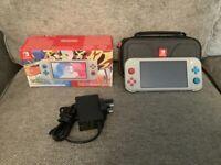 Nintendo Switch Lite POKEMON Set ***Like NEW***
