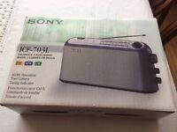 Sony ICF-703L 3 band radio