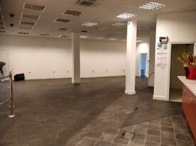Acton, W3, London. Large triple shop, corner Mini Supermarket. Approx 2950 sq ft. Opposite station