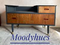 Lebus dresser, small console table, living room storage, small sideboard