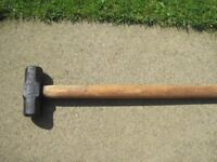 small SLEDGE HAMMER - 7lb - Excellent condition --£5--