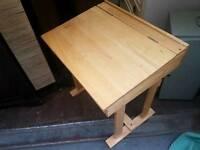 Childrens small wooden desk