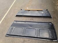 Mercedes Vito 2 part bulkhead