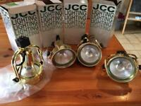 JCC profile range track spotlight 100W gold