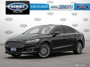 2015 Ford Fusion Titanium300A|AWD|Driver Assist Package