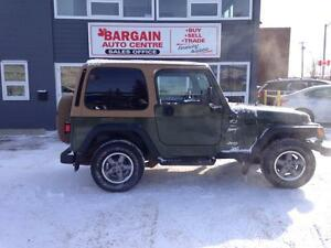 1997 Jeep TJ Sport ''DOOR CRASHER SPECIAL '' 7888 ''