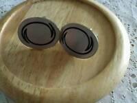 Cufflinks Stainless Steel Oval