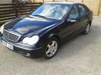 Mercedes C200 Avantegard Petrol Automatic(spares or repair) Low miles.