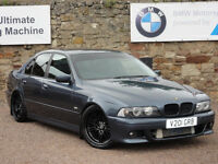 BMW E39 530d Saloon, Automatic, 1999 / V Reg, MOT: May 2017, Sport Bumpers, Genuine M5 Alloys