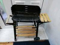 Rectangle charcoal bbq grill