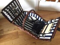 John Lewis Wicker Picnic basket - £50 (or nearest cash offer)