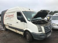 Volkswagen crafter breaking parts available