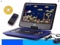 Portable player with games