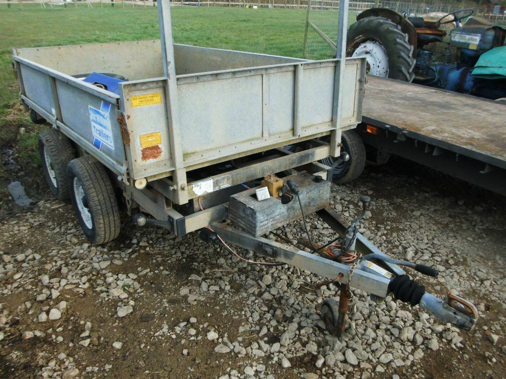 Ifor williams tt tipping trailer tipper electric