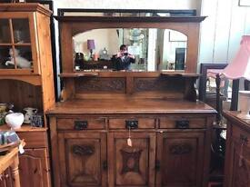 Arts and Crafts Dresser
