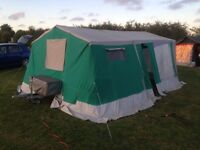 2003 trigano chantilly 5/6 birth trailer tent + extras £250 can deliver
