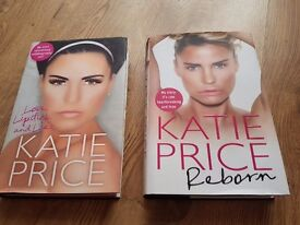2x Katie price autobiography (read once)