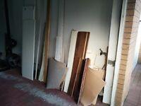 Free assorted wood / mdf / shelves/ skirting / laminate