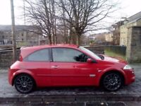 Renault Megane Cup 225 2005 (55)**Low Mileage**Full Years MOT**Great Hot Hatch**ONLY £2995!!!