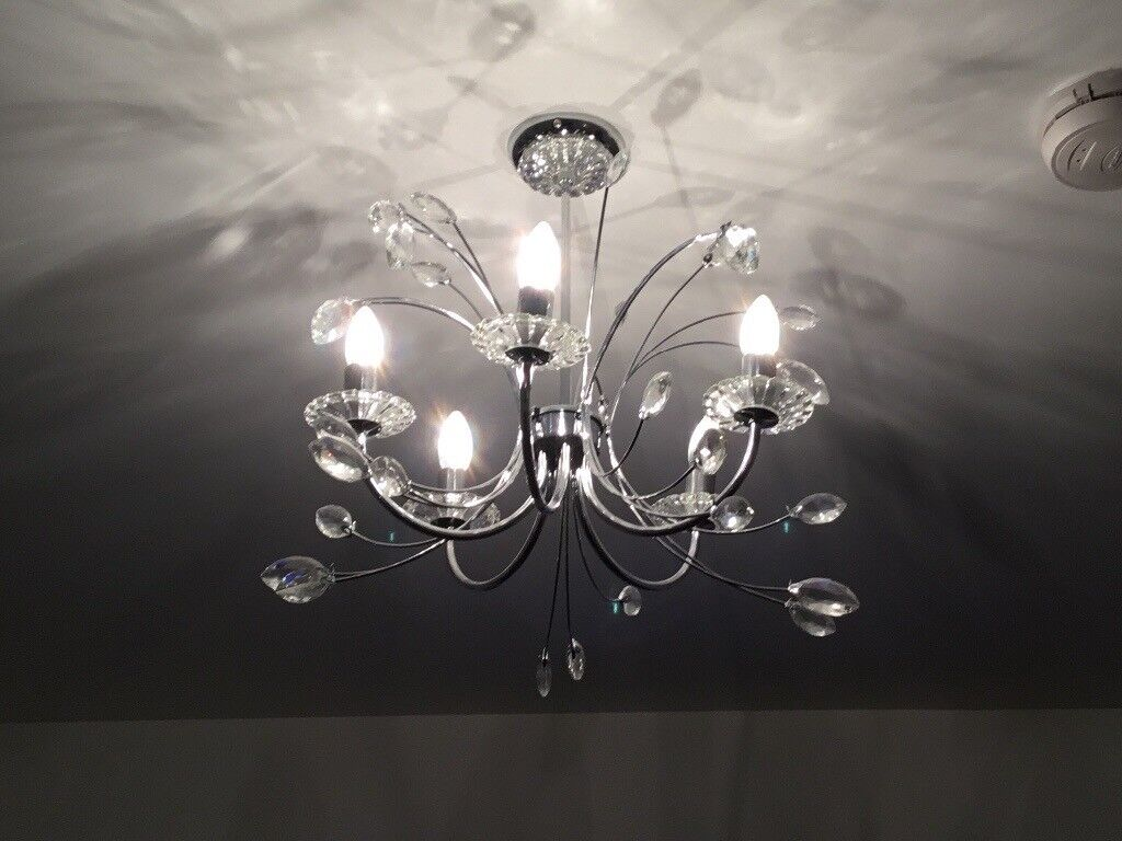Chandelier + matching standing lamp for sale £100 | in East End ...