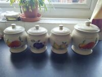 For Sale - Price & kensington Country Fruits Collection. (10 piece kitchenware set)