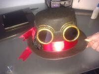 Steampunk Hat handmade