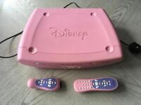 Perfect for a princess! Disney DVD player