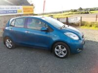2010 TOYOTA YARIS 1.3 TR 6 SPEED ONLY £20 YEAR ROAD TAX MOTD AUG 2019 EXCELLENT CAR MUST BE SEEN
