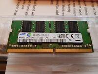 8 GB DDR4 Samsung Laptop Ram
