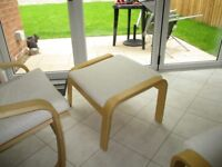 Pair of matching footstools