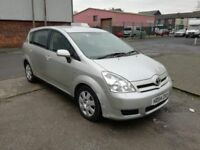 2005 (54 reg), Toyota Corolla Verso 2.0 D-4D T2 5dr MPV with FSH, £1,395 p/x welcome
