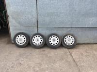 Volkswagen Golf mk4 Tyres With rims