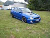 SUBARU WRX 2.0 TURBO NEW MOT FSH NEW TYRES BRAKES VERY NICE EXAMPLE DRIVES SUPERB NO OFFERS MAY PX