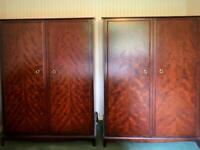 Stag Double Wardrobes X2