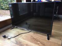 Broken screen 42 inch LG HD LED television