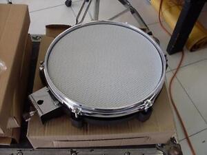 Pad drum électronique peau mesh 3 zones 10 pouces NEUF