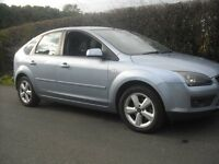 Ford Focus Zetec Climate 2007 one owner from new, 5 door manual, fsh