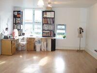 Workspace in creative studio