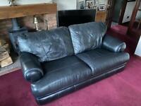Genuine leather suite.