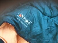 Vango sleeping bags two singles makes into double