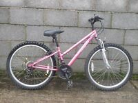 bike pink apollo 24'' vivio