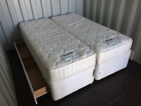 Bargain Duniopillo Luxury King Size Bed & Mattress Clean Condition, Free Delivery In Norwich,