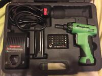 SNAP ON - CORDLESS SCREWDRIVER £100!