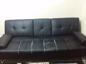 black sofa bed for free
