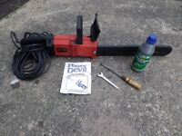 Red Devil mains electric chain saw.
