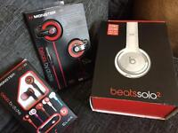Headphones mixed lot £4 a set 3 4 a tenna