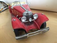 Limited Edition Franklin Mint 1935 Mercedes Benz Special