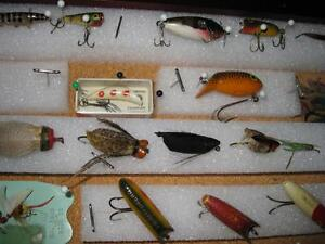 ANTIQUE FLYROD LURE COLLECTION Kawartha Lakes Peterborough Area image 10