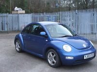 VW BEETLE 1.6Ltr Mot March 24th 2018 with full service history 10 stamps plus receipts