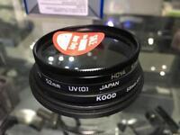 Hoya 52mm UV camera lens filter Kood PL-CIR Japan